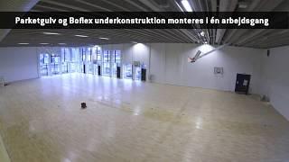 Parket sportsgulv - Campus Aarhus C