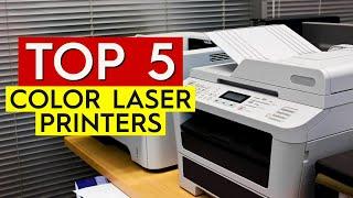 ✅ TOP 5: Best Color Laser Printer 2020