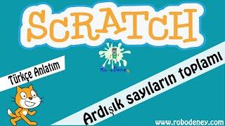 Scratch 3 Ardışık sayı toplamı