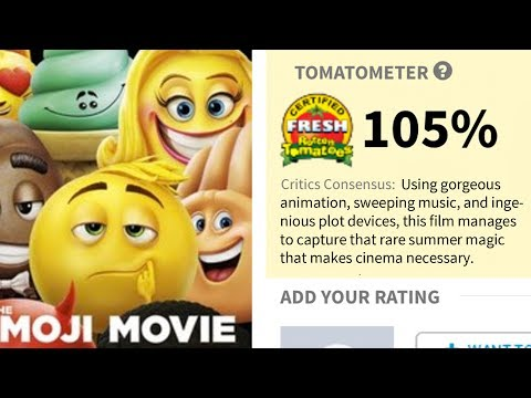Recenze na Emoji ve filmu