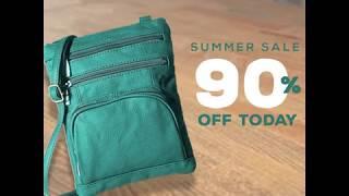 Soft Leather Bag Summer Sale
