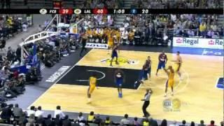 10-07-2010 - Preseason - FC Barcelona vs. Lakers - Team Highlights
