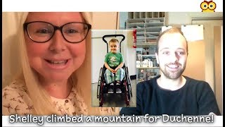 Muscle Owl Talks Ep55: Shelley's DMD Snowdon Challenge: DONE!