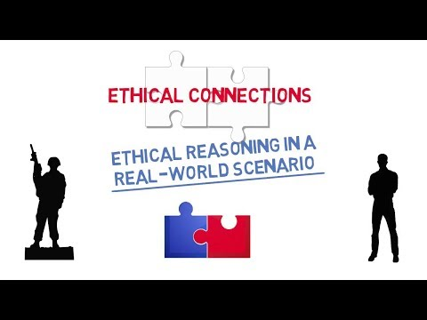 Ethical Connections: Ethical Reasoning in a Real-World Scenario (Civilian) Screenshot