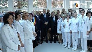 Iohannis, la inaugurarea Ambulatoriului Spitalului de Urgenţă din Suceava