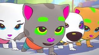 КОТ ТОМ БЕГ ЗА КОНФЕТАМИ #34 мультик игра для детей Talking Tom Candy Run