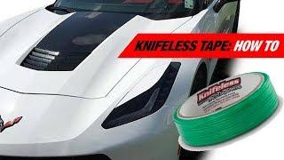 How To Use Knifeless Tape