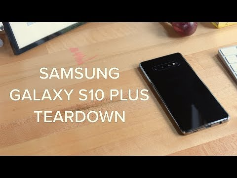 The Samsung Galaxy S10+ Teardown!