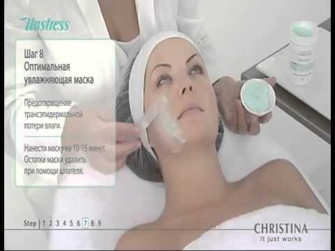 Израильская косметика Christina, линия для защиты кожи от стресса - Unstress