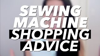 Tips on Choosing a Sewing Machine
