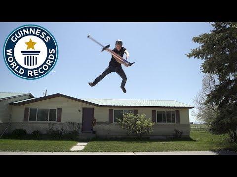 Top 5 Pogo Tricks  - Guinness World Records