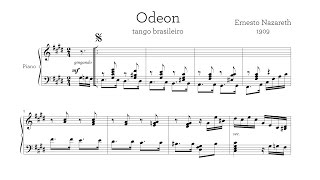 """""""Odeon"""" Ernesto Nazareth - Paul Barton, piano"""