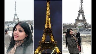 preview picture of video 'Trip to Paris | Day 1 Vlog | Things to do in Paris | Honeymoon Dairy'