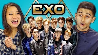 TEENS REACT TO EXO - CALL ME BABY (K-pop)