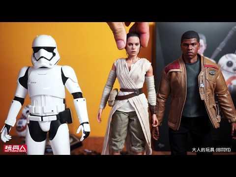 大人的玩具Hot Toys – MMS337 – 星際大戰七部曲:原力覺醒 Rey & BB-8 組合包 開箱