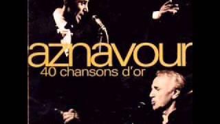 Hommage à Monsieur Aznavour avec cette chanson peu connue TU T LAISSES ALLER