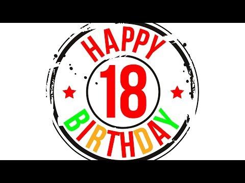 Поздравление! С совершеннолетием! С 18-летием! С днём рождения! (для парней)