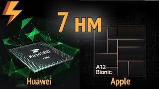 КТО ПЕРВЫЙ? Apple и Huawei борются за звание первого 7 нм процессора (SoC)