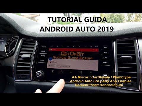 ANDROID AUTO APP ENABLER - AAMirror & CarStream - смотреть