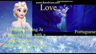 My Personal Ranking Of Elsa's Voice From Frozen