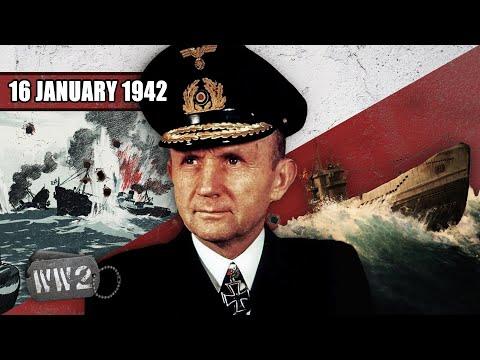 Německé ponorky útočí na New York - Druhá světová válka
