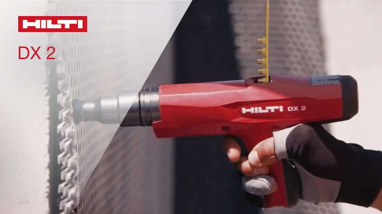 Hilti powder-actuated fastening tool DX-2