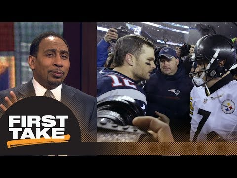 Stephen A. Smith makes bold prediction for Patriots vs. Steelers | First Take | ESPN