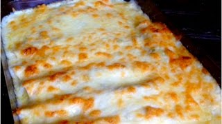 Chicken Enchiladas with White Cream Sauce Recipe Over 1 Million Pins!