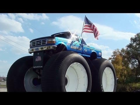 World's Tallest Pickup Truck