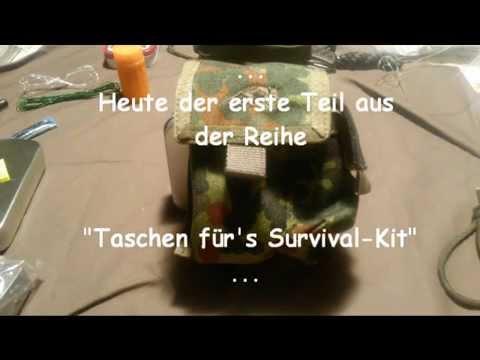 Taschen für's Survival-Kit (1): TT Zigi-Etui, flecktarn