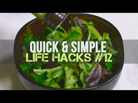 Avoid Overdressing Salad By Converting A Dressing Bottle Into A Shaker