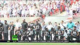 Kneeling to Criticism? NFL Puts Anthem Policy on Hold