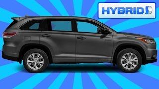2016 Toyota Highlander Review - Is The Hybrid Worth The Extra Money?