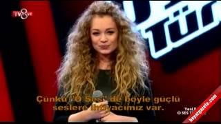 """Яна Соломко """"Вербовая дощечка"""" на шоу Голос Турции"""