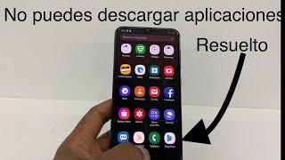 No Puedo  R Aplicaciones En Mi Celular Play Store   Solucion