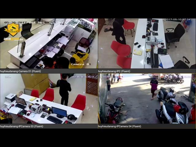 Giải pháp camera cho văn phòng - Camera Hải Phòng Group