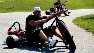 Motorized Drift Trike  SFD Industries