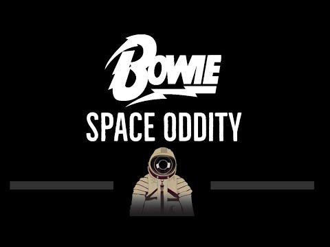 David Bowie • Space Oddity (CC) 🎤 [Karaoke] [Instrumental Lyrics]