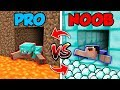 Minecraft NOOB vs PRO SWAPPED TUNNEL