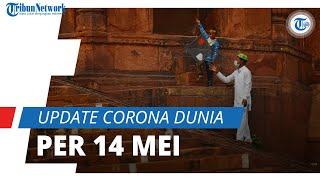 Update Corona Dunia 14 Mei 2021: Total 161,8 Juta Terinfeksi Covid-19, Pasien Sembuh Capai 140 Juta