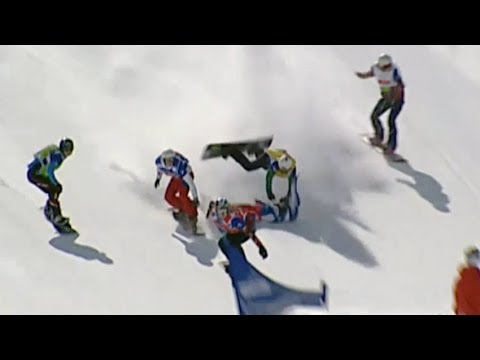 Crashes of the Snowboard Cross World Cup – Universal Sports