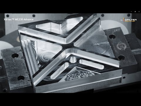 MC230 ADVANCE SOLID CARBIDE MILLING CUTTER Xill·tec™ – universal and eXcellent.