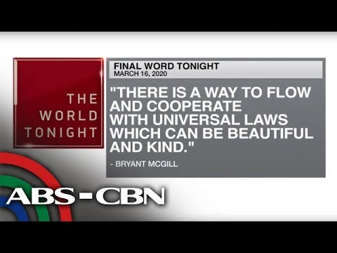 [ABS-CBN]  Final Word – March 17, 2020