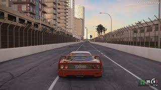 Project CARS 2 - Ferrari F40 at Long Beach