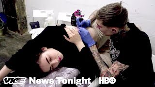 How Russian Prisoners Are Using Tattoos To Protest Putin (HBO)