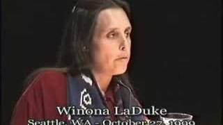 Talk - Winona LaDuke - Land, Life and Culture: A Native Perspective
