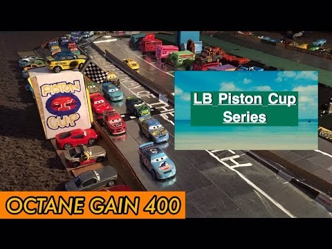 The LB Piston Cup Octane Gain 400 Motor Speedway Of The South Race 2 [STOP - MOTION]