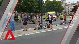 Suspected terror attack outside London parliament