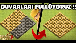 BİTMEZ DUVARLARI BİTİRDİK !! | Clash Of Clans