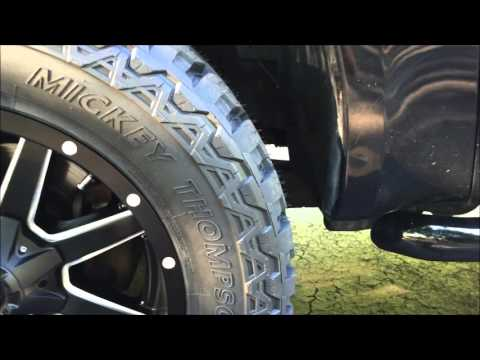 Fitting 35 inch tires on factory suspension F250